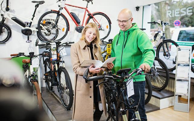 e-Bike Verkäufer