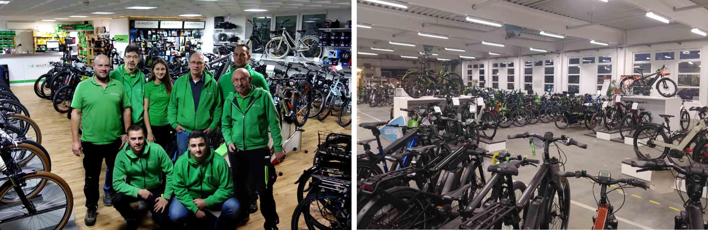 e-motion e-Bike Premium-Shop Velbert