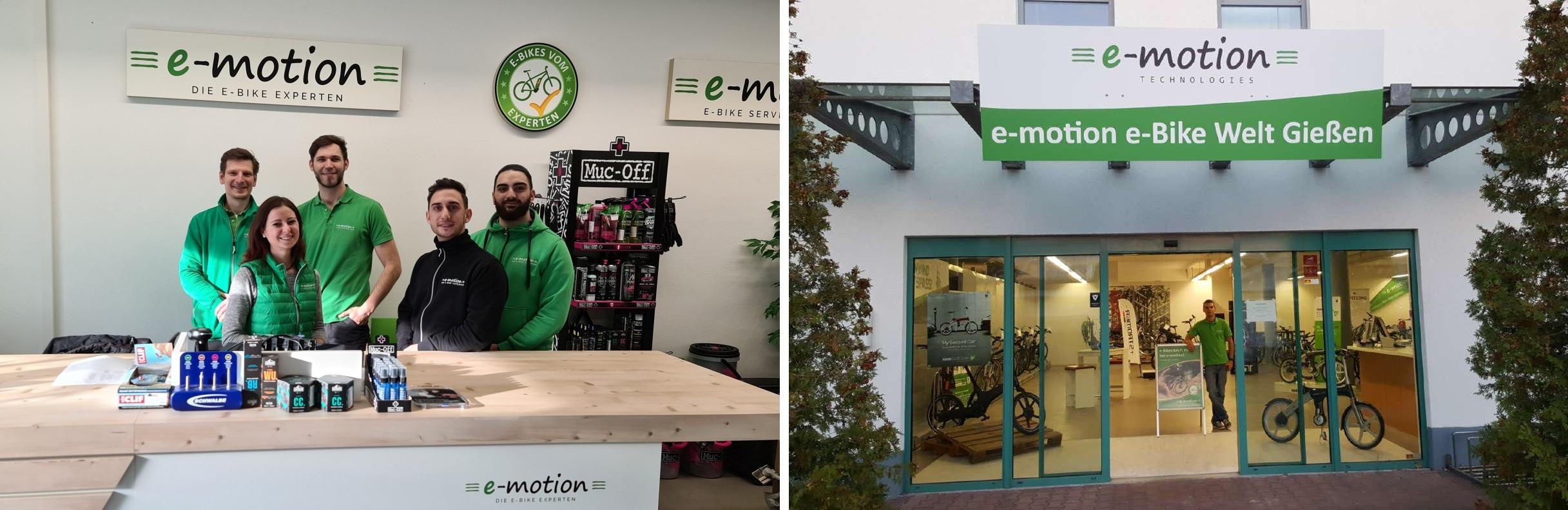 e-motion e-Bike Welt Gießen