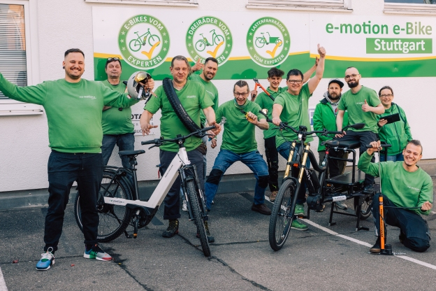 e-motion e-Bike Welt Stuttgart Terminbuchung