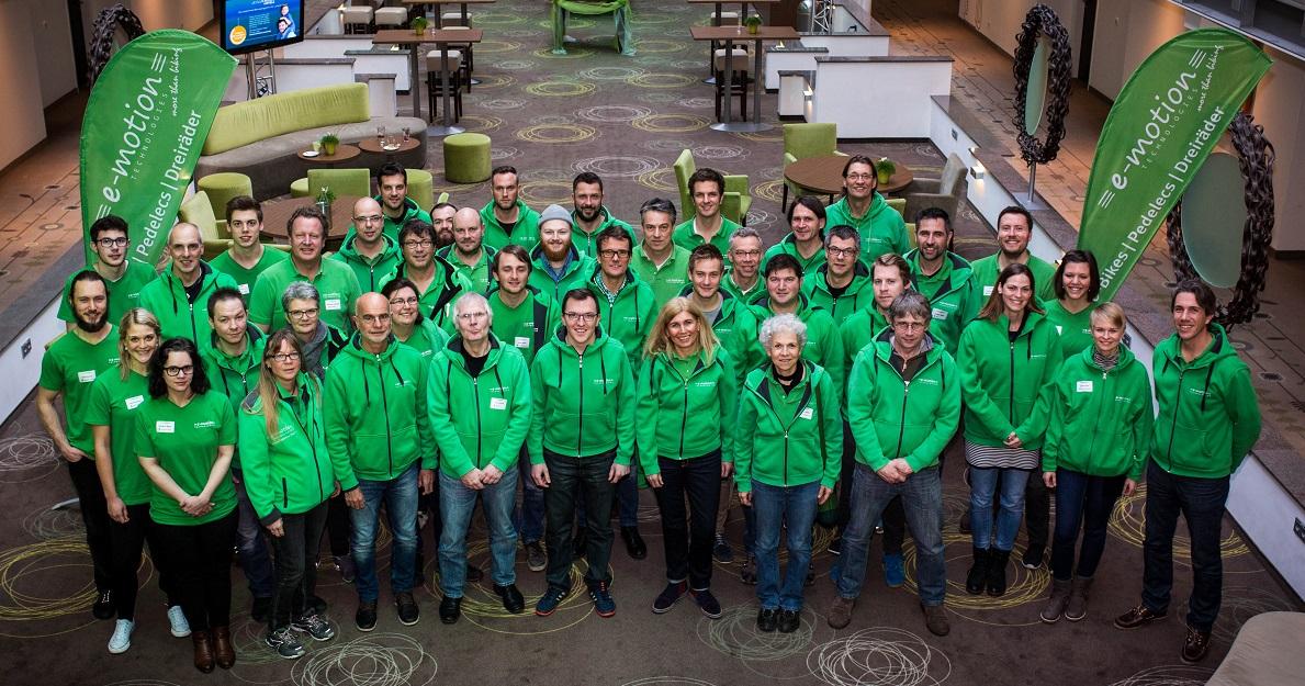 Die e-motion Technologies-Partner der Standorte und Filialen in Deutschland und der Schweiz