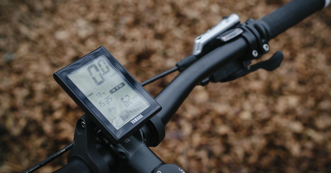 Der e-Bike-Antrieb wird über ein Display gesteuert, auf dem auch die unterschiedlichen Unterstützungsstufen eingestellt werden.
