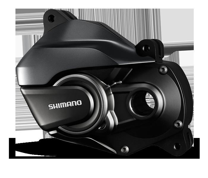 Der e-Mountainbike-Antrieb E8000 hat einen starken Drehmoment, wenig Gewicht und zuverlässige Sensoren - das alles sorgt für ein agiles und natürliches Fahrverhalten auf dem e-Bike.