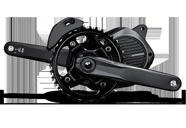 2016 hat Shimano seinen Antrieb für e-Mountainbikes herausgebracht, der mit einem hohen Drehmoment und guten Rahmengeometrien der optimale E-Bike-Antrieb für den Offroad-Trail ist.