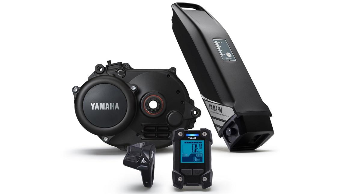 Die Yamaha e-Bike Motorserie PW-X mit 500 Wh Pedelec-Akku und robustem e-Bike-Display bietet zuverlässige Unterstützung bei jeder Offroad-Tour mit dem e-Mountainbike.