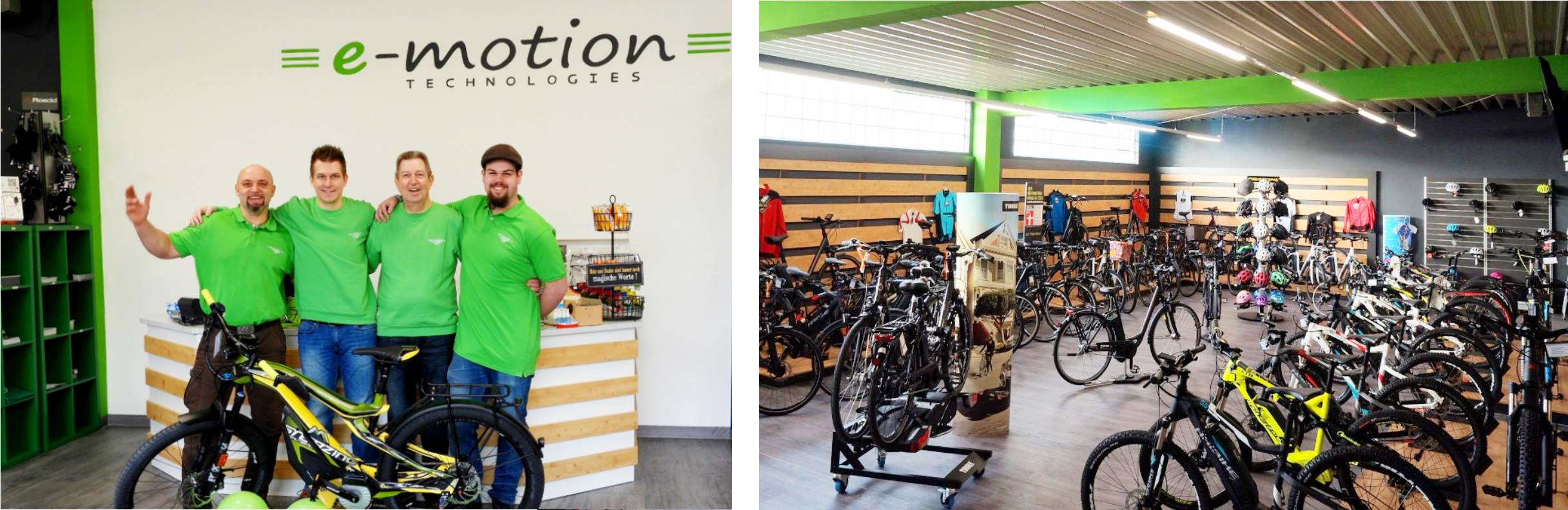 e-motion e-Bike Welt Harz