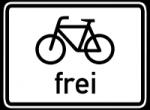 Das Fahren auf Fahrradwegen ist nur mit reinen Pedelecs mit einer Tretkraftunterstützung bis 25 km/h erlaubt.