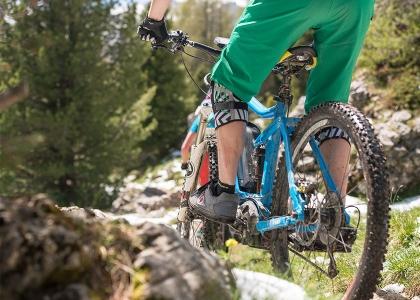 Der eMTB Modus des Performance CX bringt viele Vorteile beim e-Mountainbike fahren: mehr Traktion auf losem Untergrund und mehr Power auf der Geraden, das Ansprechverhalten ist präzise und arbeitet ohne Verzögerung.