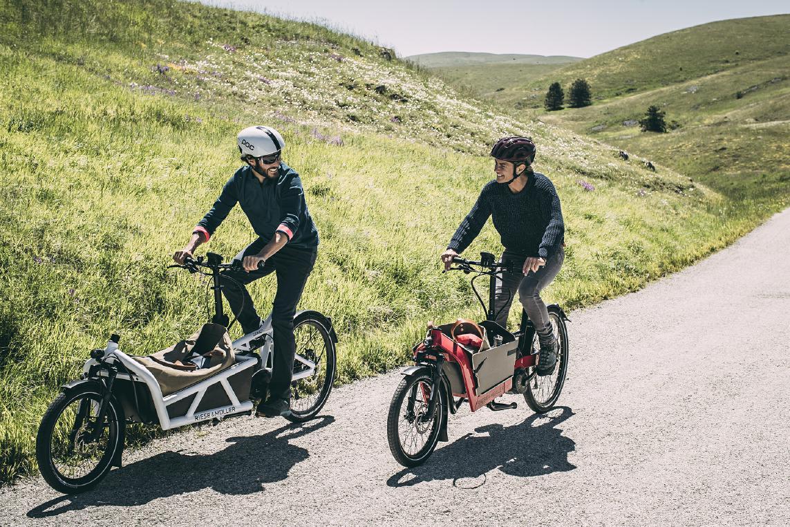 Für alle Personen, die gerne viel mit dem Elektrofahrrad transportieren, sind Lasten e-Bikes die richtige Wahl.