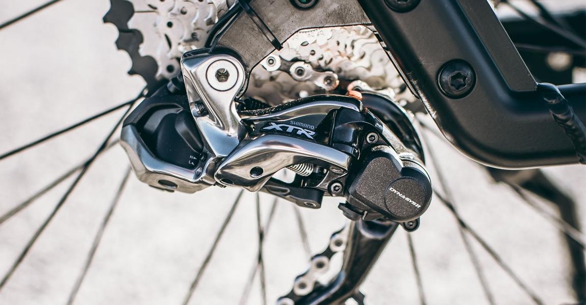 Die Kettenschaltung XTR von Shimano gehört zu den besten und robustesten Gangschaltungen auf dem e-Bike Markt.