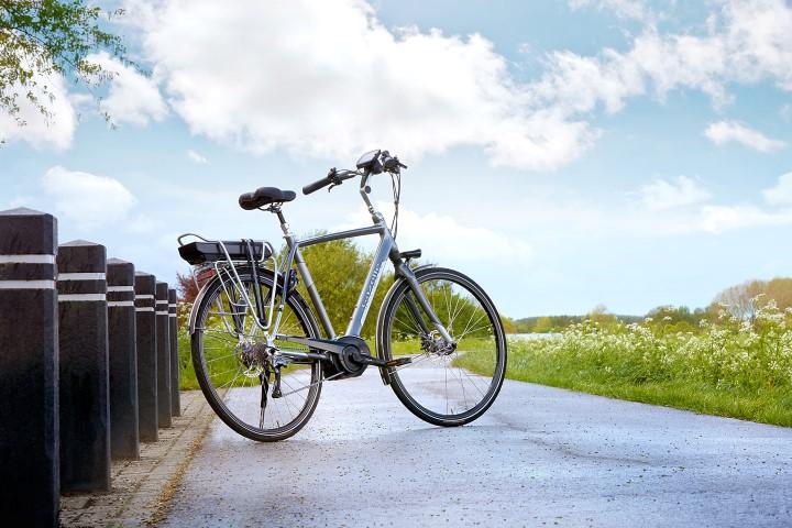 Der Diamantrahmen ist eine beliebte Rahmenform für Trekking e-Bikes, Touren e-Bikes und City e-Bikes.