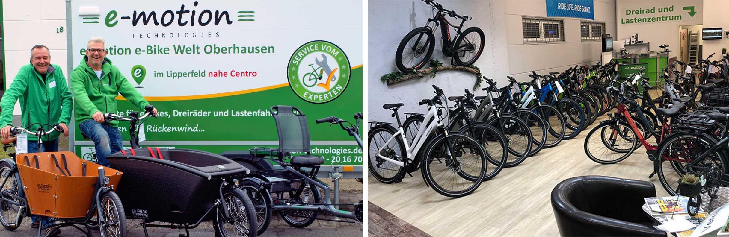 e-motion e-Bike Welt Oberhausen