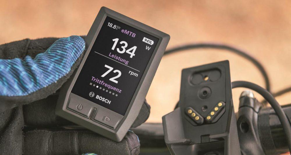 Das neue Kiox e-Bike Display von Bosch