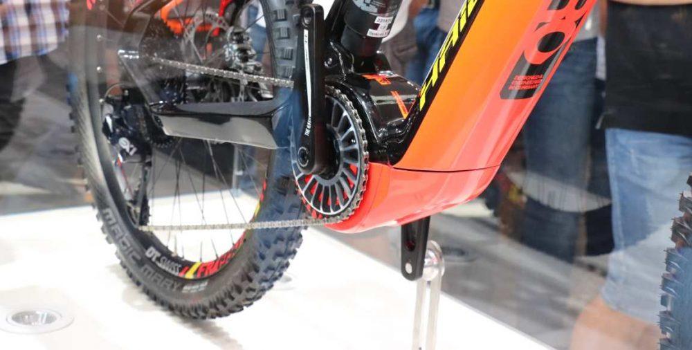 Die Bauweise des TQ HPR 120S erlaubt eine Integrierung des Elektromotors in den Rahmen des e-Bikes