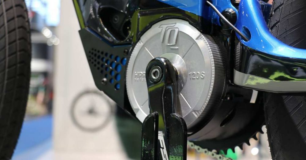 Über fünf Unterstützungsstufen lässt sich die große Leistung des TQ Motors wie gewünscht nutzen