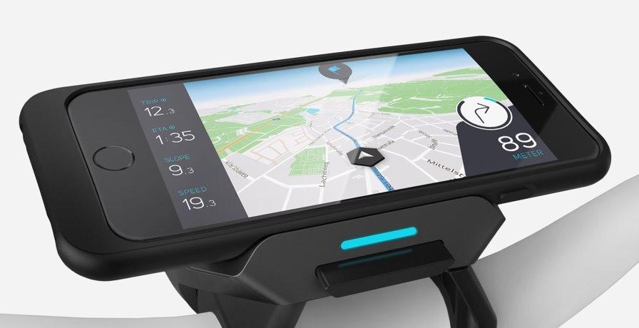 Die Steuerung des e-Bike erfolgt über die COBI.Bike App