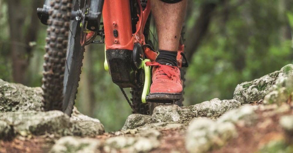 Der Bosch Performance CX Antrieb ist speziell für e-Mountainbikes entwickelt worden