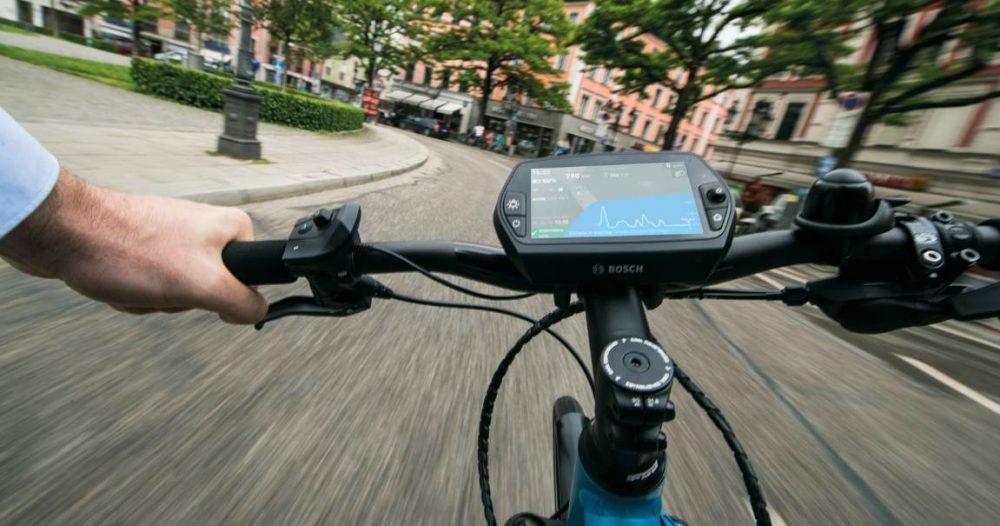 Alle gängigen e-Bike Displays von Bosch sind mit der Bosch Performance Line kombinierbar
