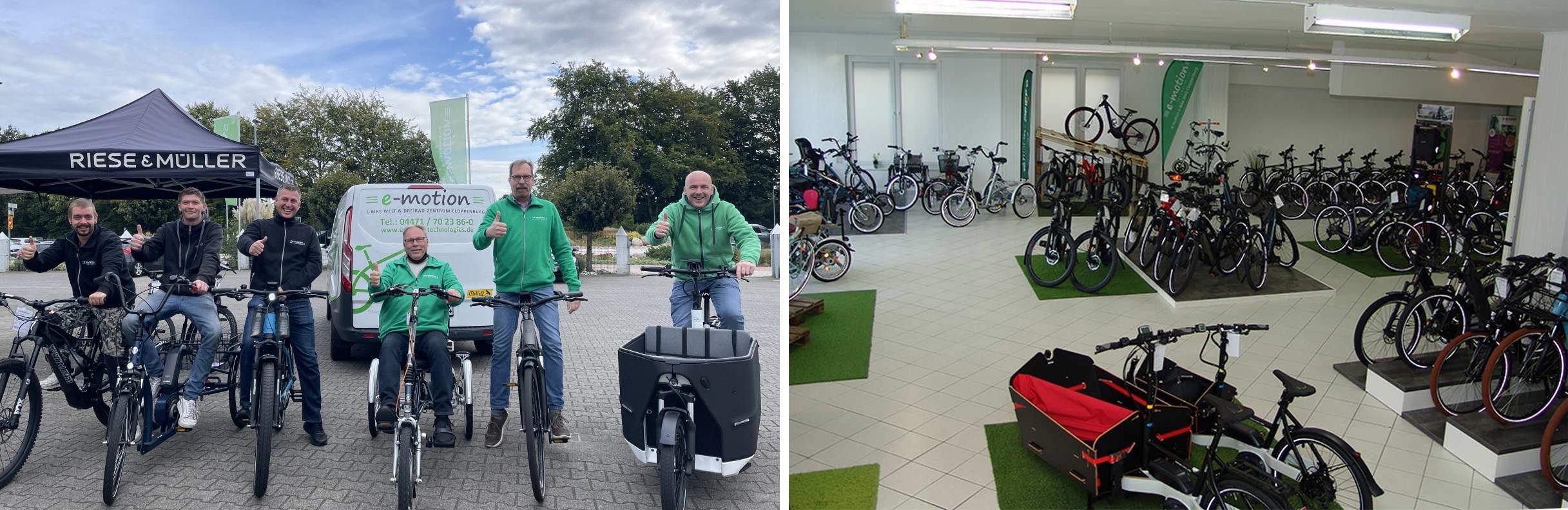 e-motion e-Bike Welt Cloppenburg