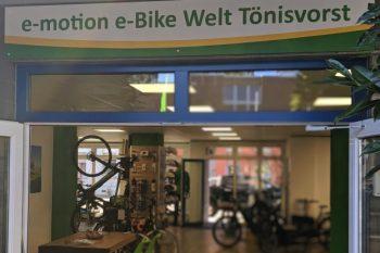 e-motion e-Bike Welt Tönisvorst
