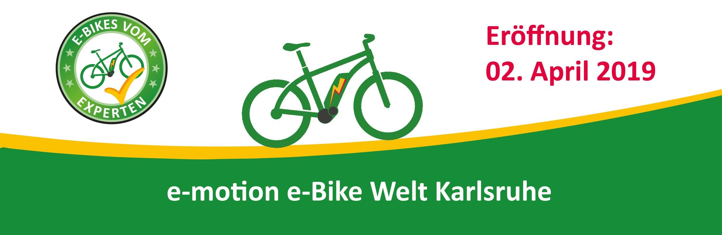 e-motion e-Bike Welt Karlsruhe
