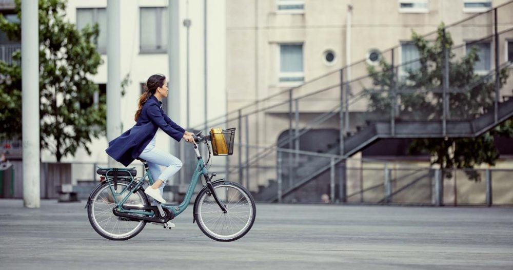 Gazelle City e-Bike mit Shimano E6000 bei e-motion