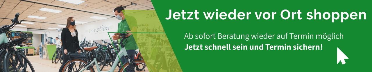 e-motion e-Bike Welt Freiburg Süd Beratungstermin buchen