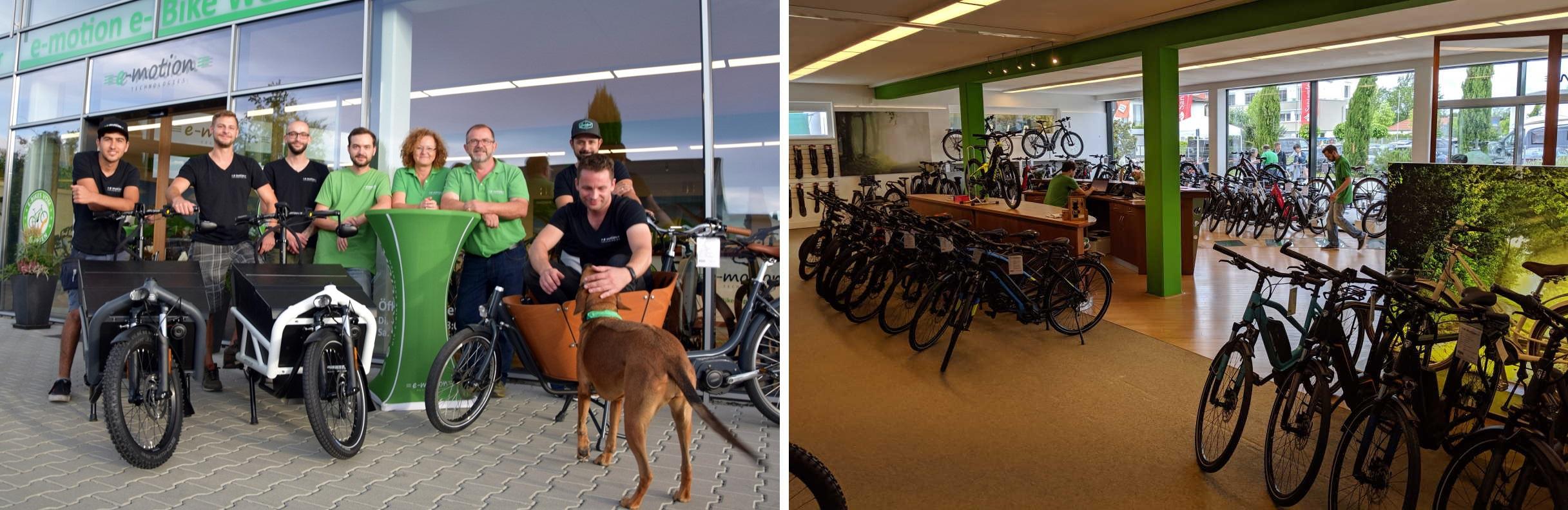 e-motion e-Bike Welt Freiburg Süd