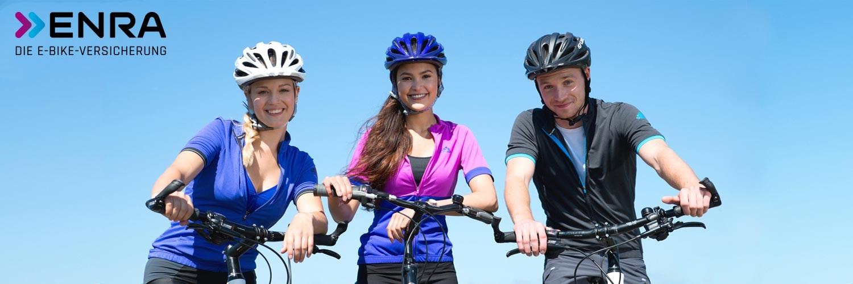 Alle Informationen zur ENRA e-Bike Versicherung