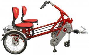 Van Raam Funtrain 2019 Dreirad für Erwachsene