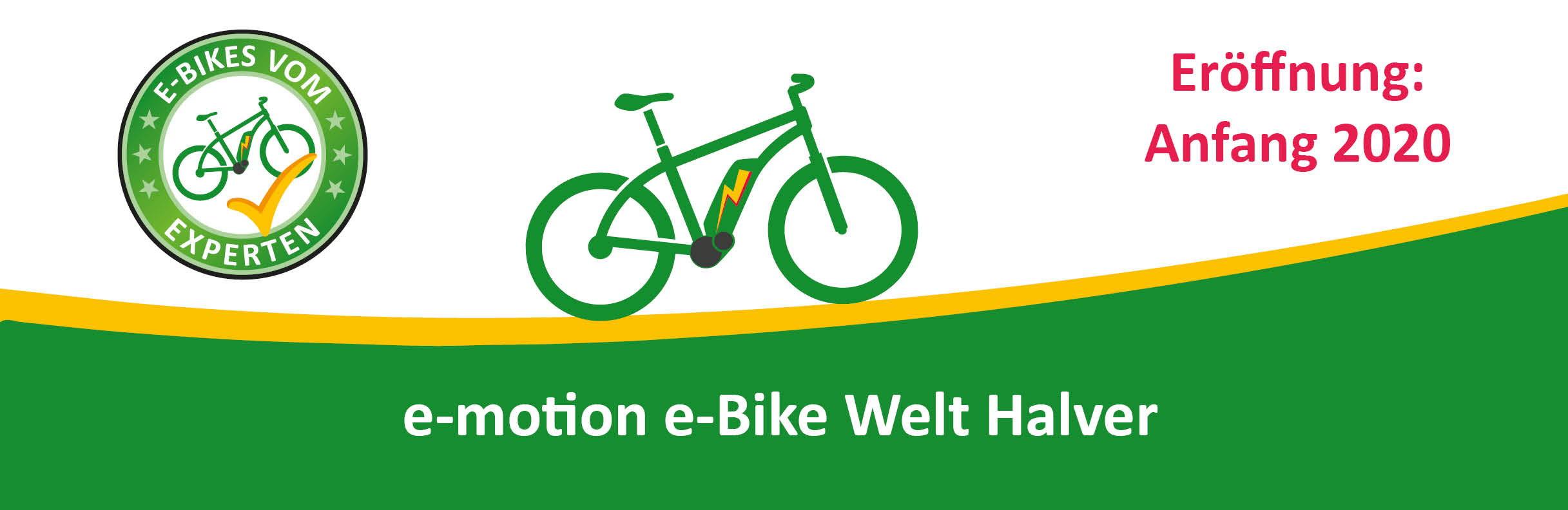 e-motion e-Bike Welt Halver