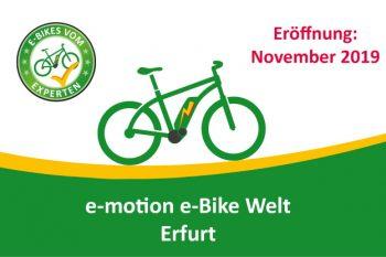 e-motion e-Bike Welt Erfurt