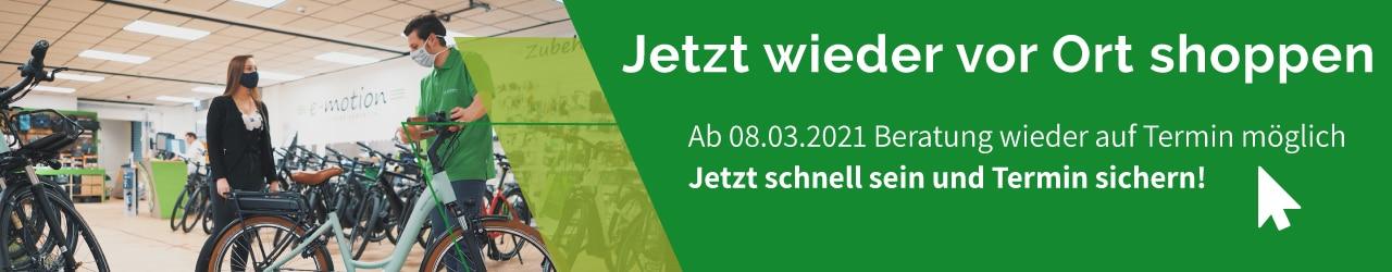 e-motion e-Bike Welt Moers Beratungstermin buchen