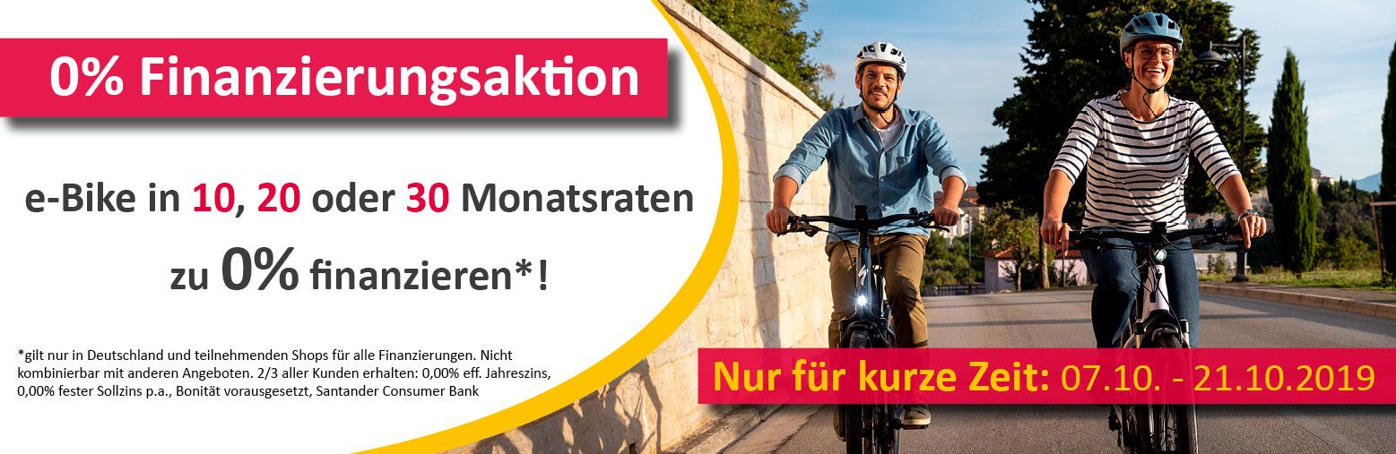 e-Bike 0% finanzieren