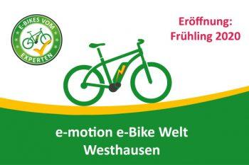 e-motion e-Bike Welt Westhausen