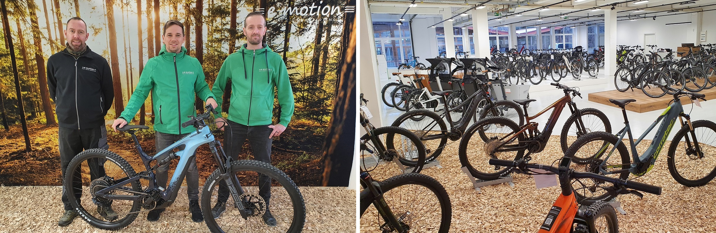 e-motion e-Bike Welt Pforzheim