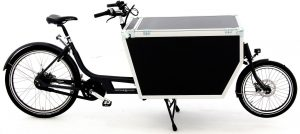 Babboe Pro Bike-E Flightcase Mittelmotor 2021 Lasten e-Bike