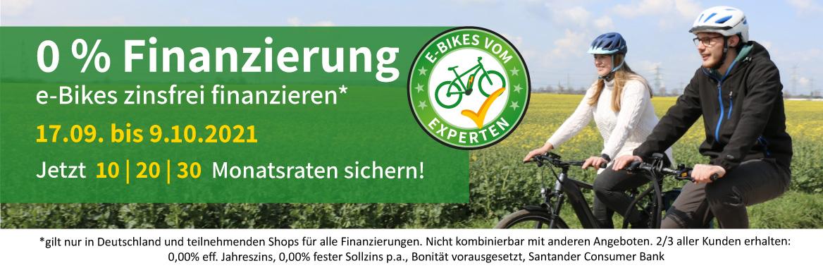 e-motion e-bikes 0% Finanzierung