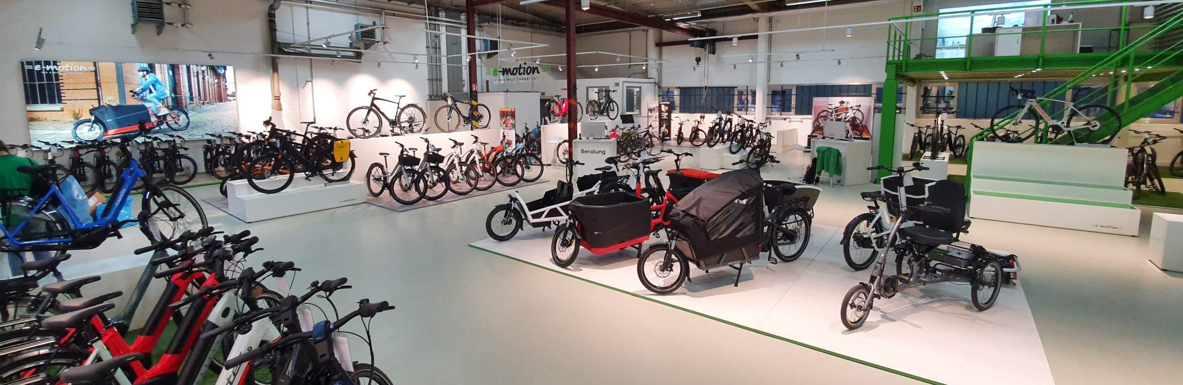 e-motion e-Bike Welt Frankfurt Nord